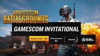 Gamescom PUBG Invitational 2017 - Announcement Trailer