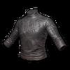 Long-SleevedLeatherShirt