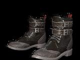 Skórzane buty (czarne)