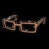 Horn-RimmedGlassesBrown