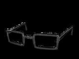 Rogowe okulary (czarne)