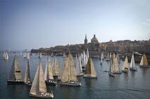 The Start of the 29th Rolex Middle Sea Race