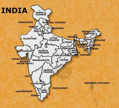 Latest India Map.Image India Map Jpg Public Diplomacy Fandom Powered By Wikia