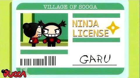 Pucca Funny Love Season 1-Ep21-Pt2-Ninja License-0