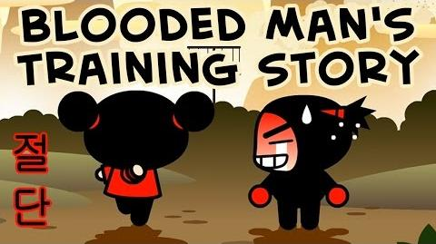 Pucca Short Animations - Blooded Man's Training Story 절단 -HD-