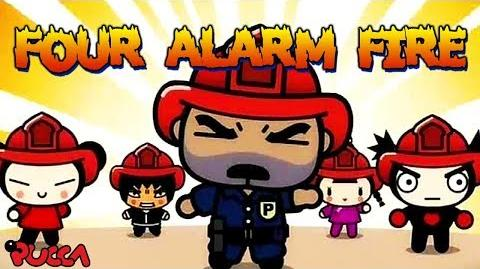 Pucca Funny Love Season 1-Ep21-Pt3-Four Alarm Fire-0