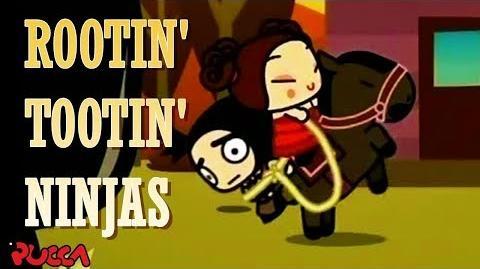 Pucca Funny Love Season 1-Ep11-Pt1-Rootin' Tootin' Ninjas-0