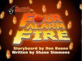 Four-Alarm Fire