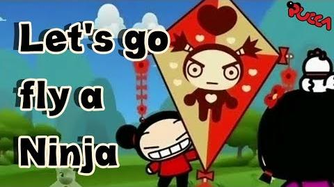 Pucca Funny Love Season 1-Ep4-Pt2-Let's Go Fly A Ninja-0