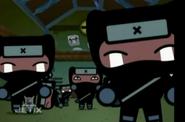 Crying ninjas