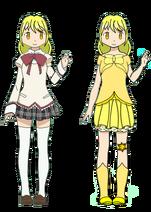 Hanamaru Himarino - Civilian and Transformed