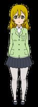 Seika Hashimoto - Official Profile (Uniform)