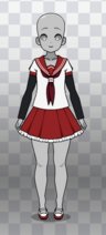 Yonazawa Middle School Uniform