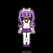 Halloween Costume Sailor Cat Girl Yuki