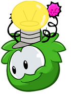 Piffle Light Bulb Puffle Hat