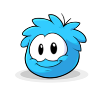 208px-Puffle Transformation 2012 Blue