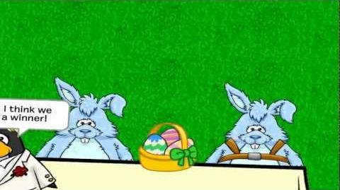 Club Penguin- Easter Bunny Burp Off