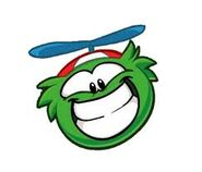 Greenpuffle HUGE smile