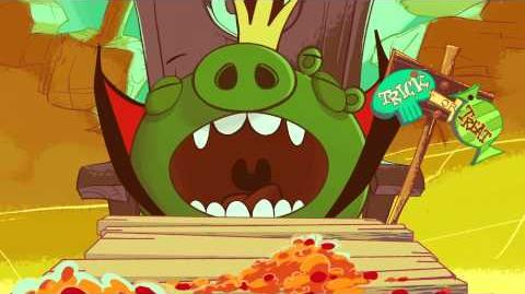 Angry Birds Seasons Ham'O'Ween
