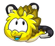 Yellow Dinosaur loves ryok