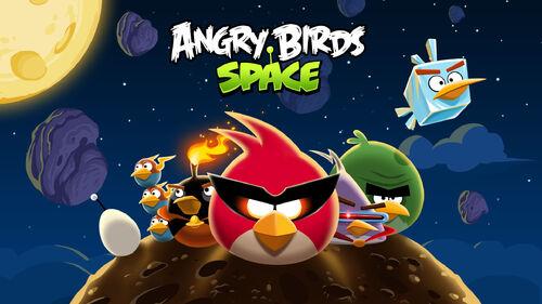 Angry Birds Space PC splash 1920x1080