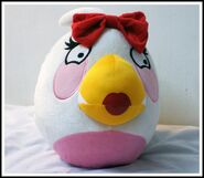 AngryBird Soft Toys (15inch) - Female White Bird RM39.90