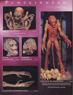 Halloween Outlet Pumpkinhead Page