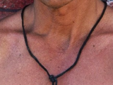 Ed Harley's necklace