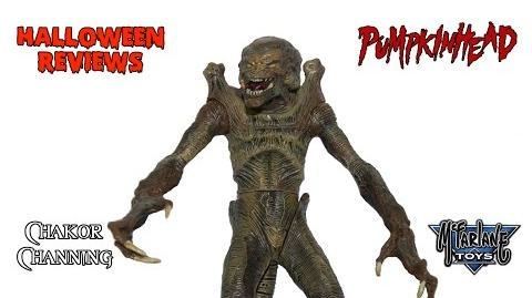Halloween Reviews McFarlane Toys Movie Maniacs Series 2 Pumpkinhead