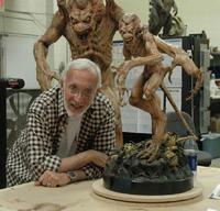 Stan Winston and Pumpkinhead Maquette