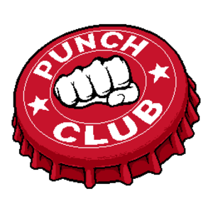 Punch club logo big x