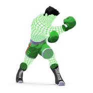 Little Mac Wireframe
