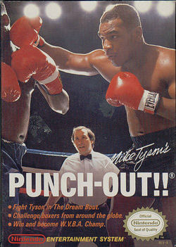 Mike Tyson's Punch-Out game cover