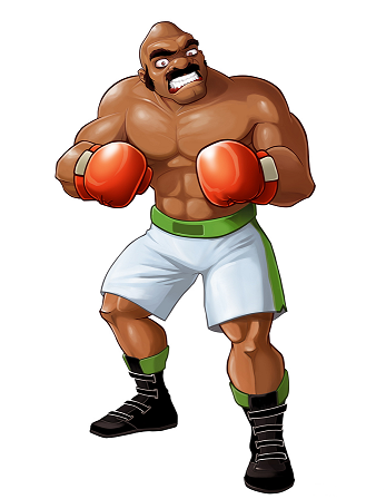 Bald bull punch out wiki fandom powered by wikia for What is a punch out list