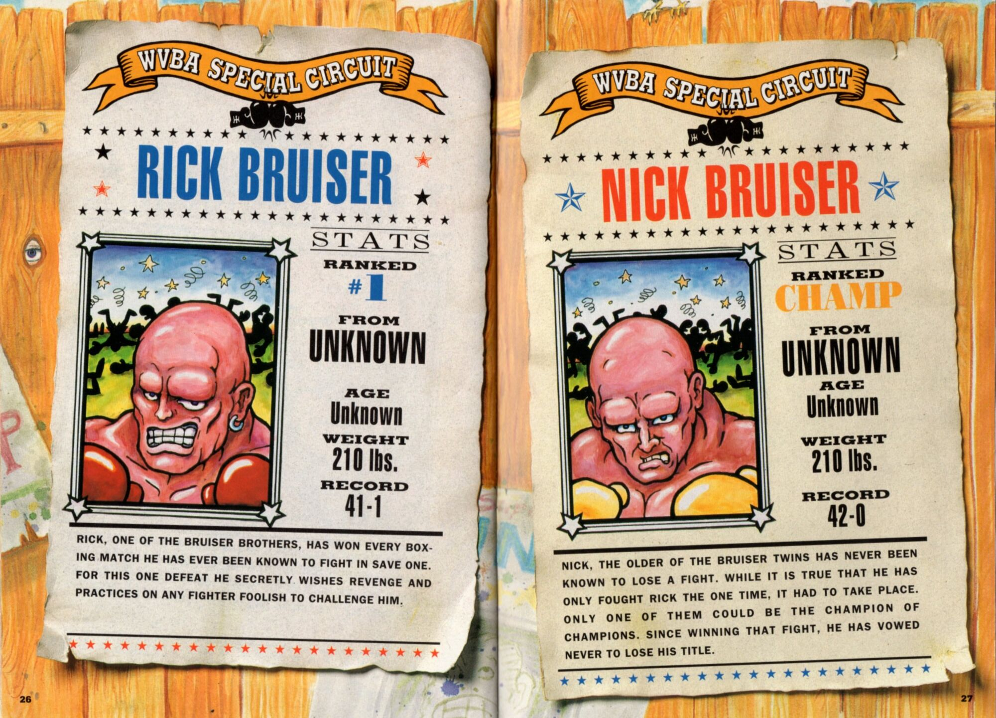Nick bruiser punch out wiki fandom powered by wikia for What is a punch out list