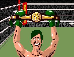 Super Punch Out Heavyweight Belt