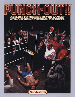 Punchout arcade flyer