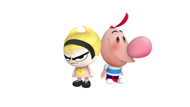 image billy mandy png punch time explosion wiki fandom powered
