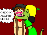 Six shooter and snake girl by penguinqueen423