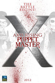 Puppet master X axis rising