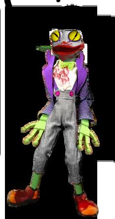 Frog Color Scheme 2 Truck Scene