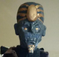 Justin toulon pharoah head