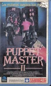 Puppet Master II vhs argentino