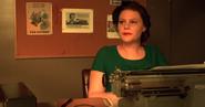 Girl Typewriter