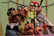 Cast of Oobi Dasdasi Hand Puppet TV Show