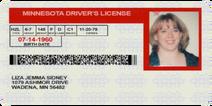 Liza Sidney's ID (Riverside Incident Victim)