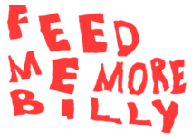 Feed Me More Billy Real Logo