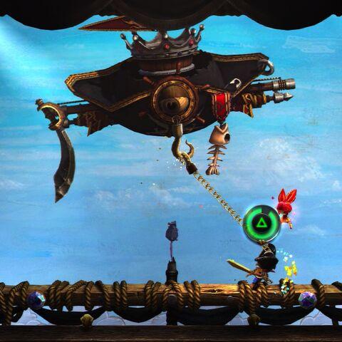 Pirate Head Power: Pirate's Hook!