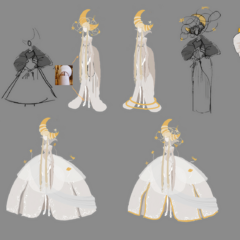 Moon Goddess concept art