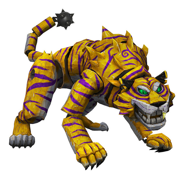 General Tiger | Puppeteer Wiki | FANDOM powered by Wikia